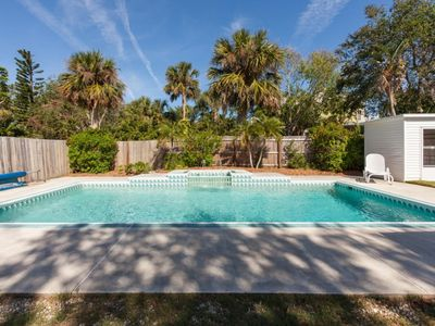 Photo for Pool Home Walking Distance to Famous Flagler Ave, Beach, and Steps to River