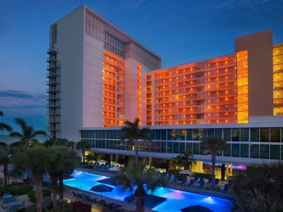 Photo for March 1st-8th, 2019 Marco Island Marriott Crystal Shores Beachfront Property