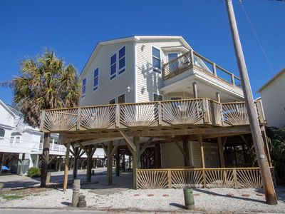 Photo for Ocean Lakes Castle by the Sand, Enjoy the Beach & Ocean View from your Huge Wraparound Balcony!