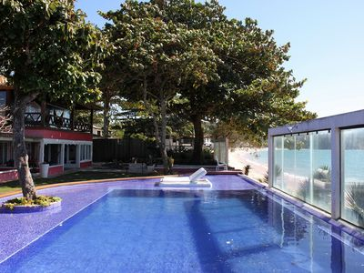 Photo for Buz005 - Beautiful mansion with 7 bedrooms in front of the sea in Búzios