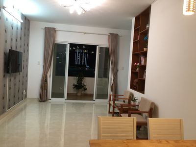 Photo for 3T Vungtau - An apartment of 80 m2, 2 bed rooms, near the Back beach