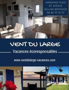 Photo for Vent du Large, eco-friendly house in Marennes Plage by the sea
