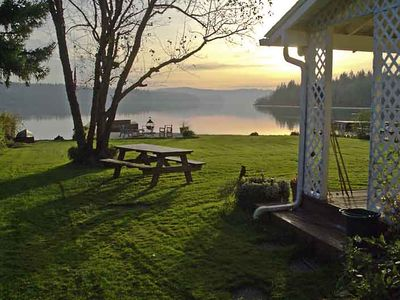 Photo for Stunning Lakefront w/ Dock and close to Mount Saint Helens Volcanic Center