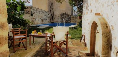 Photo for Madalo, old stone home with pool