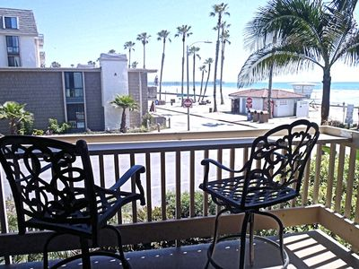 Photo for **New Listing** GREAT CORNER CONDO with SURROUNDING OCEAN and PIER VIEWS - D2 - Breakwater Bungalow
