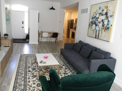 A gorgeous space, beautifully decorated with all the amenities