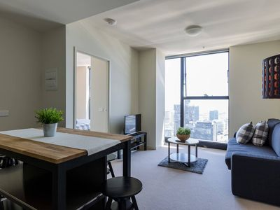 Photo for A Cozy CBD Suite with Spectacular City Views