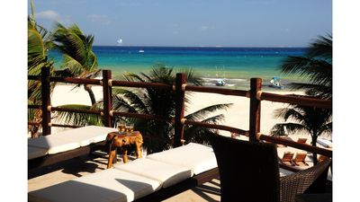 Photo for Winner of Top 25 in Luxury in All of Mexico -3rd Flr Direct Ocean View-3/3 Beach Club Promo #9