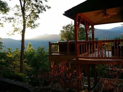 Photo for 3 Suites with Privacy and Great Mountain Views and Hot Tub