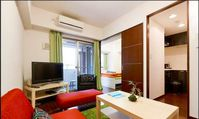 The apartment is exactly as how it was described. It is very accessible to everything - trains,