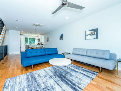 Photo for Roof Deck & City Views! 2BR + Large Loft Sleeping Area w/ Private Elevator