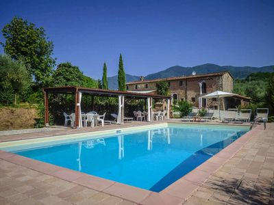 Photo for Sandra - Large farmhouse with private pool, A/C, free WIFI, Tabletennis. Lucca.