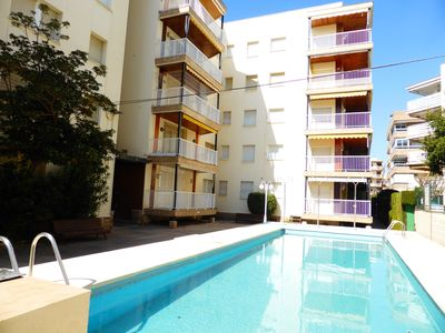 Photo for Barenys - 3 bedroom apartment with pool