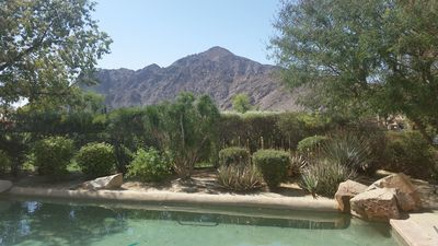 Photo for Desert Tranquility: Gorgeous custom home at gated golf community The Citrus
