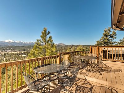 Photo for Ruidoso Home w/Hot Tub, Mtn Views & Game Room!