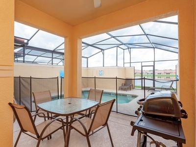 Photo for 4 BR, Private Pool with Lake View, Paradise Palms! 23👏