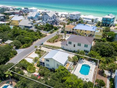 Photo for BRAND NEW LISTING IN GRAYTON BEACH!! - SANDYTOES - Pet Friendly, Private Heated Pool, Gulf Glimps...