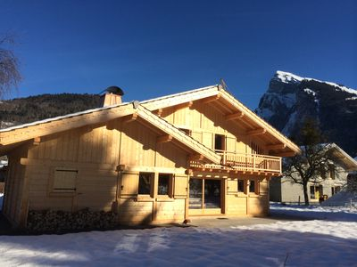 Photo for Chalet for 10 people in the heart of Samoens