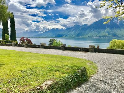 Photo for 3BD Lake View in 2 floors Montreux