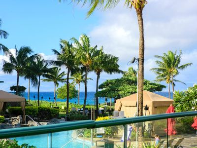 Photo for K B M Hawaii: Ocean Views, Private Garden Lanai! 3 Bedroom, FREE car! From only $479!