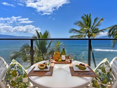 Photo for Amazing Views from this Direct Oceanfront Studio! Mahana 602