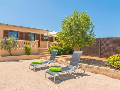 Photo for CAN TOMEU (SES SALINES) - Chalet with terrace in Ses Salines.
