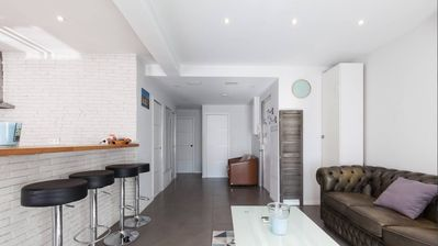 Photo for Modern apartment for groups or families in the centre of Cannes.