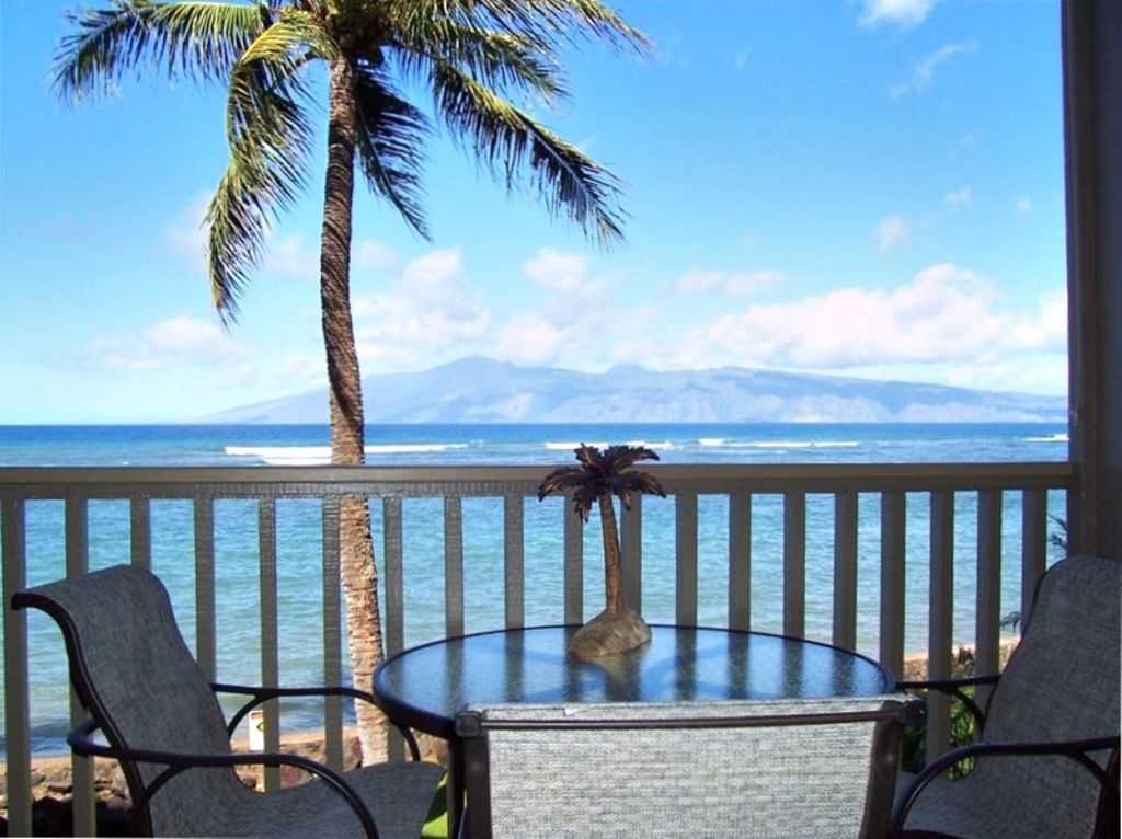 Another Beautiful Day on Maui with Spectacular Ocean & Island Views.