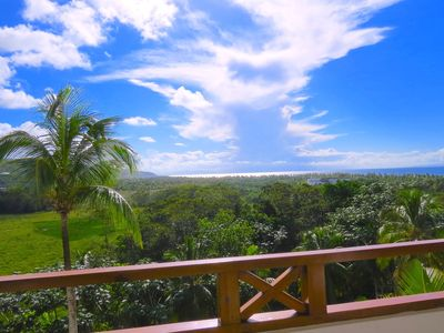 "Photo for ""COSÓN PENTHOUSE"" - Ocean View, Virgin Beaches and Green Hills"