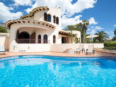 Photo for Altea la Vella Holiday Home, Sleeps 4 with Pool, Air Con and WiFi
