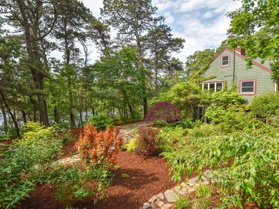 Photo for #327: Pond front w/ detached cottage & private dock in National Seashore!