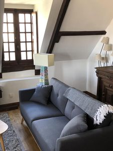 """Photo for """"Gite"""" De Charme, magnificent terrace, 2 bedrooms, renovated 2019, inside Domme!"""