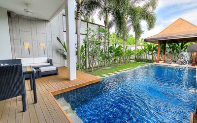 Photo for 3 BDR Private Pool Access Oxygen A5 @ Nai Harn