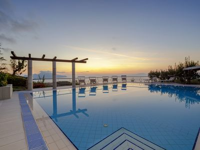 Photo for Villa Elia with Private Pool, Sea View, Terraces, Parking and Garden