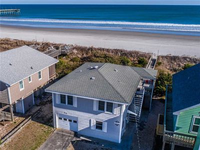 Photo for TWO SUNS: 3 BR / 2 BA oceanfront in Topsail Beach, Sleeps 6