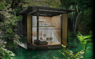 Photo for Welcome to ecological floating cottage Heron