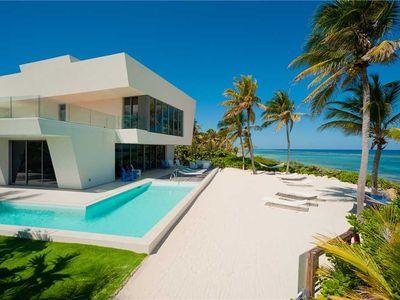 Photo for Olympus: Designer Beachfront Villa with Pool, Lots of Tech & Rooftop Lounge with Panoramic Views