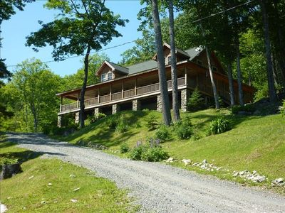 Photo for Mountain House with Awesome Views and Privacy (3-night min)