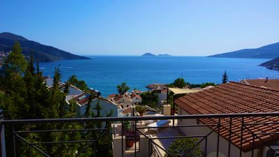 Photo for 4 bed, 4 bath villa in Kalkan Old Town. Private Pool & stunning views