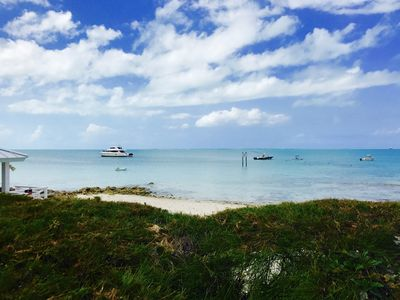 Photo for Apartment located on the water in Marsh Harbour ABACO  2 night minimum