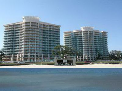 Photo for Beautiful 2 bedroom / 2 bath condo with Gulf view.