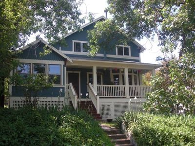 Cottage is located behind this 1920s Craftsman home