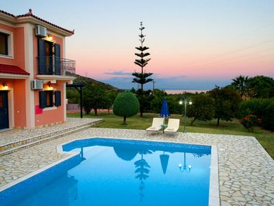 Photo for Villa Nyx - Outstanding Villa, Private Pool, Free WiFi, A/C, close to facilities