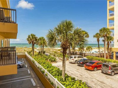 Photo for King Suite - Large Living & Dining Area - Full Kitchen - Gulf View Balcony- Free WiFi - Surf Song