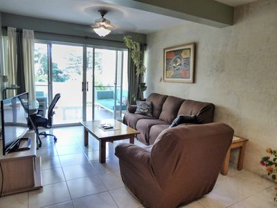 Photo for Spacious 2 Bedroom 1st Floor Condo 5 Minute Walk From Beach And Town