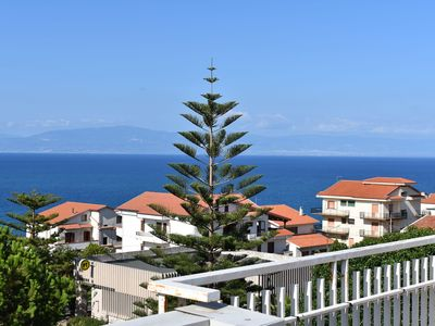 Photo for Apartment with sea view between the famous resorts of Tropea and Pizzo Calabro