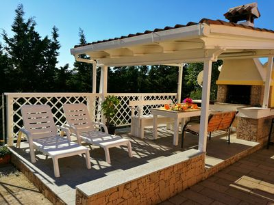 Photo for Villa Fiori 6 people + dependance 2 people, 5 min by beaches 6/8adults +2babies