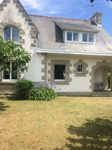 Photo for Sea by foot from large detached house with garden