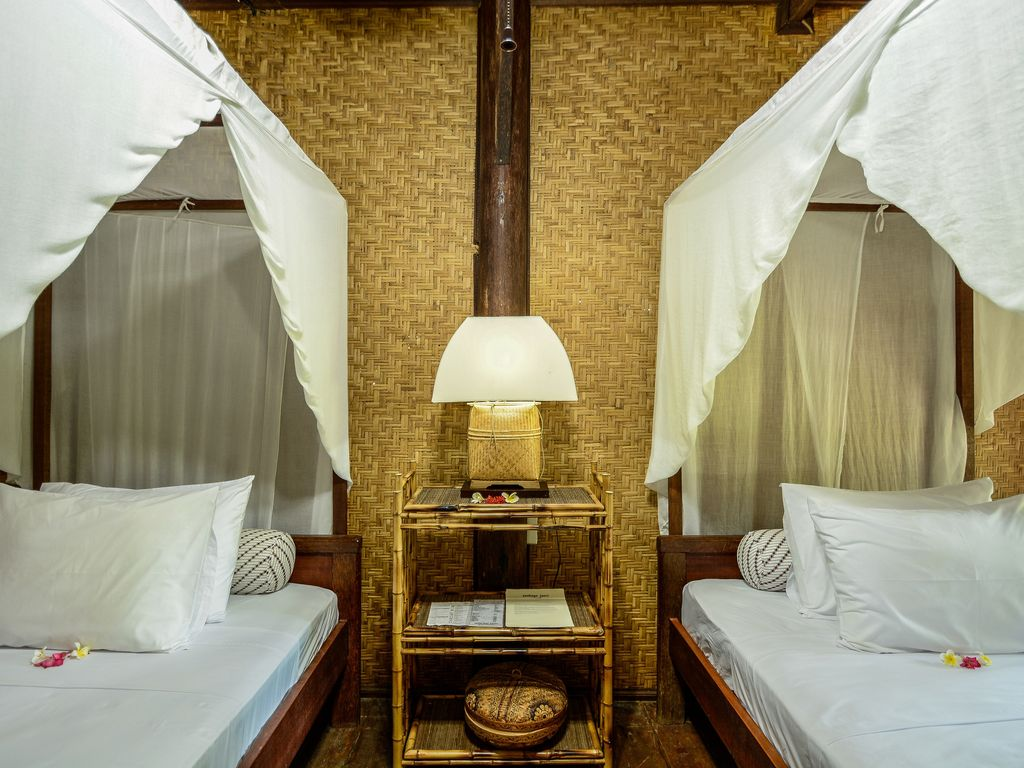 Delux Twin Room in Teak Lumbung.