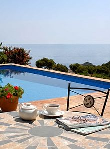 Photo for Simply Magical: Restored Catalan Villa With Sensational Sea And Country Views
